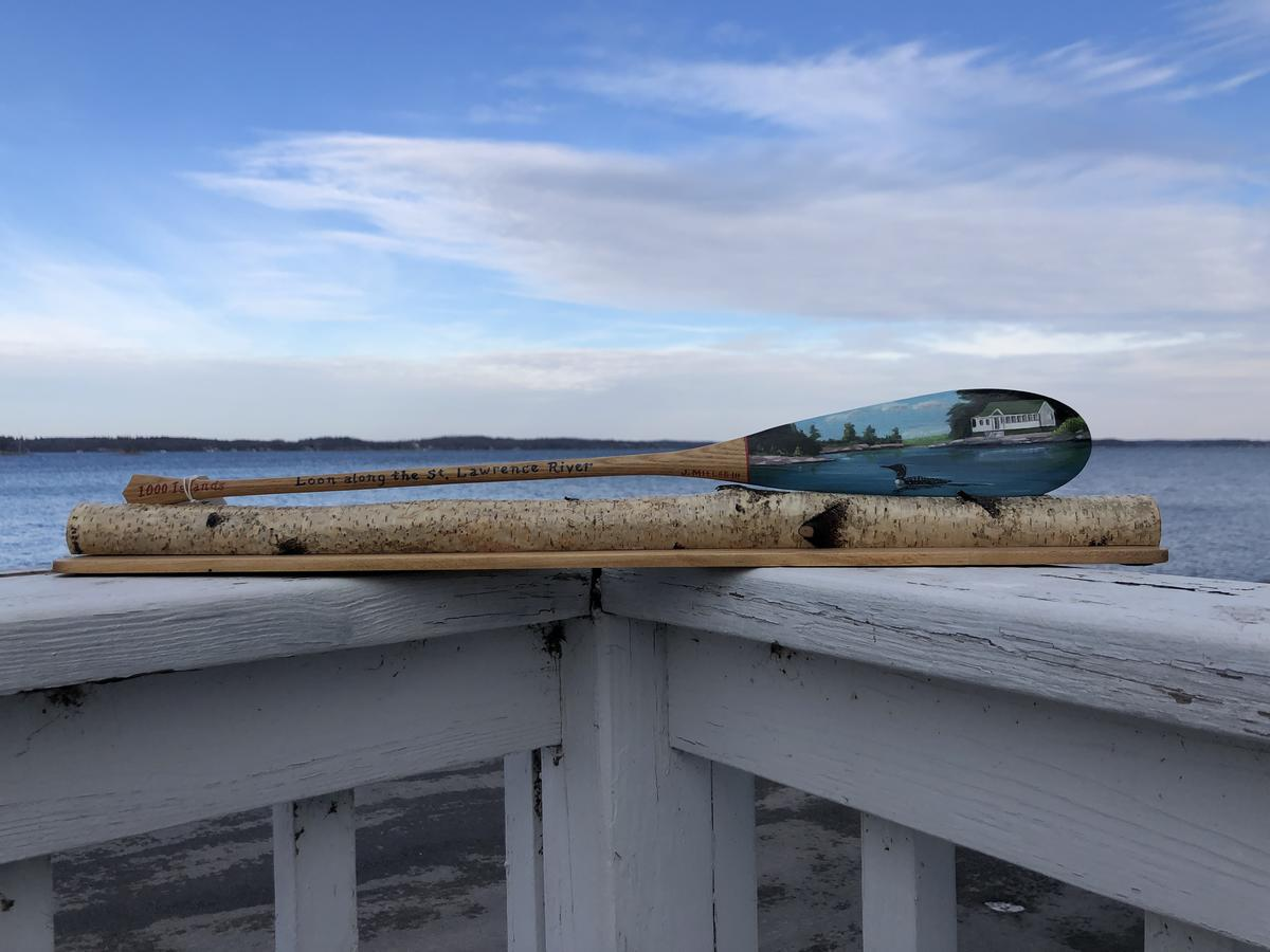 2020 Loon Paddle by John Miller III