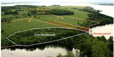 Fort Haldimand Map