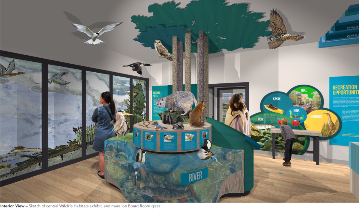 Discovery Center Concept Design by Amaze Design