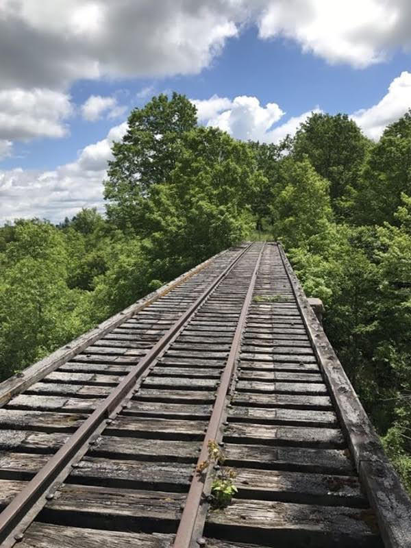NY Central Railroad Trestle Bridge