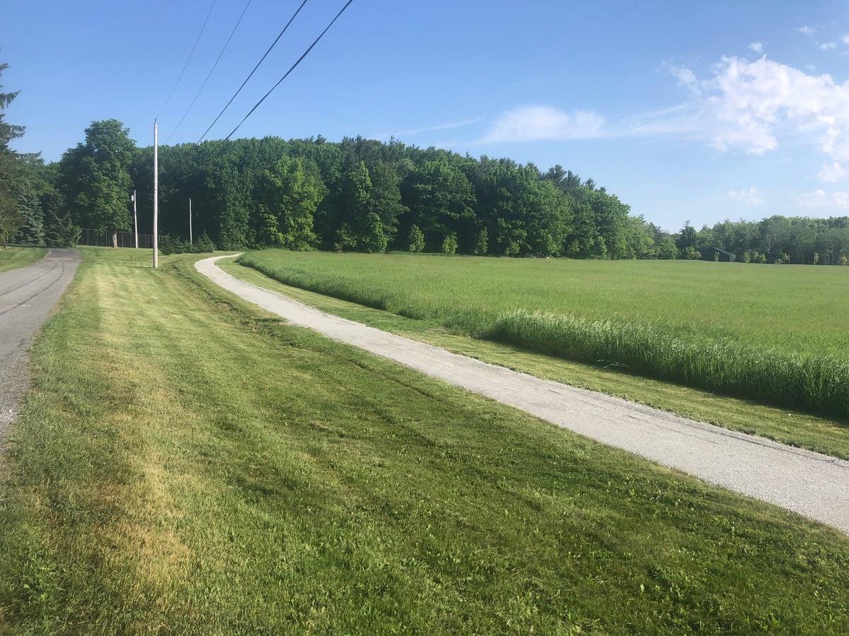 Resurfaced MacFarlane Trail at Zenda Farms Preserve