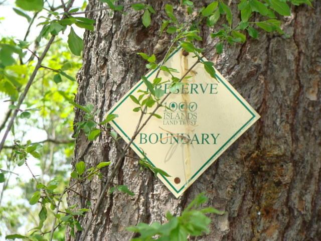 Preserve Boundary Sign