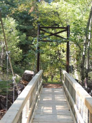 Otter Creek Suspension Bridge