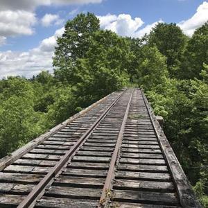 NY Central Railroad Trestle Bridge